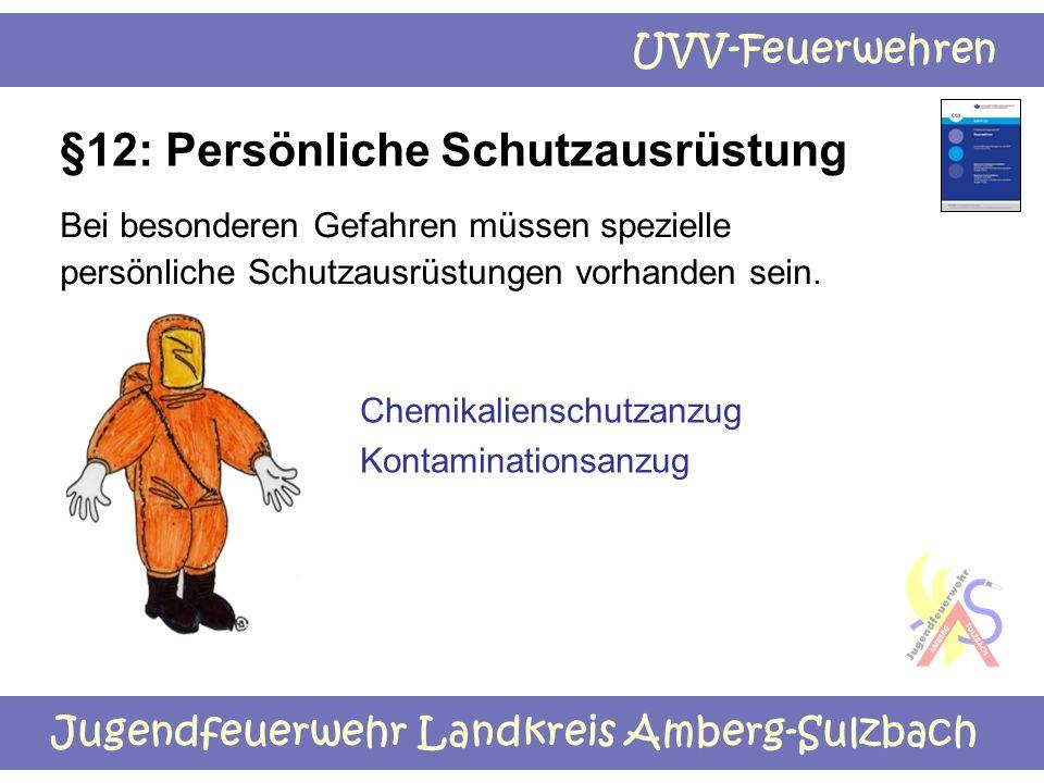 §12: Persönliche Schutzausrüstung