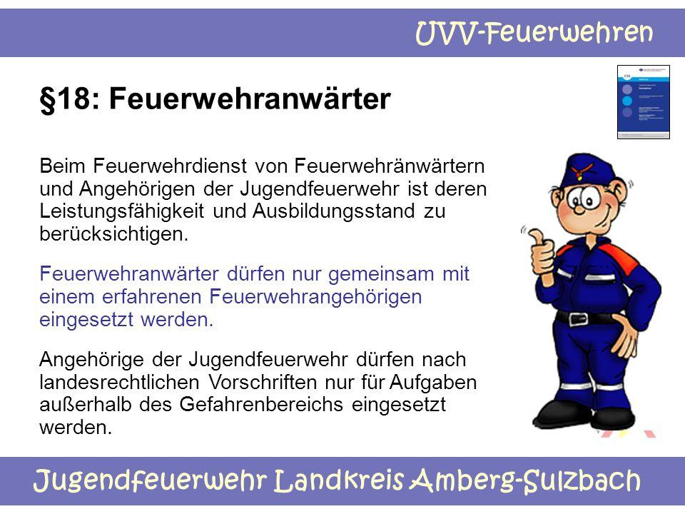 §18: Feuerwehranwärter