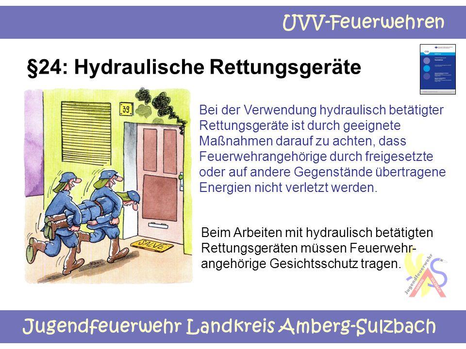 §24: Hydraulische Rettungsgeräte