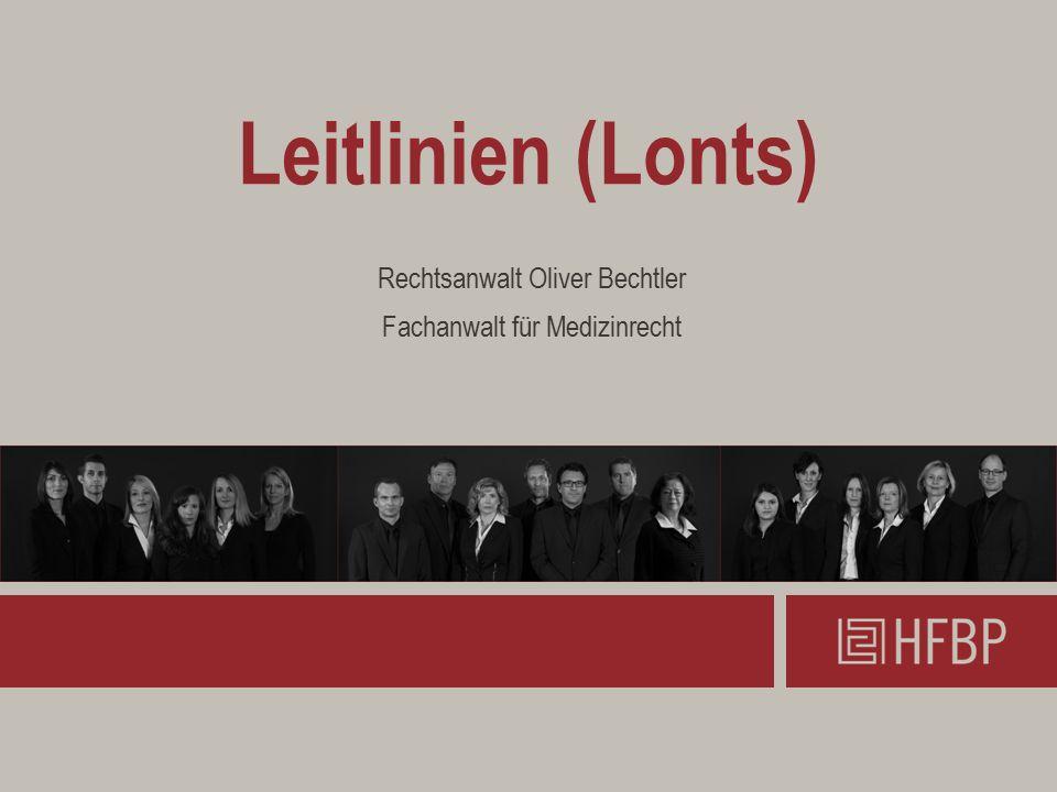 Rechtsanwalt Oliver Bechtler Fachanwalt für Medizinrecht