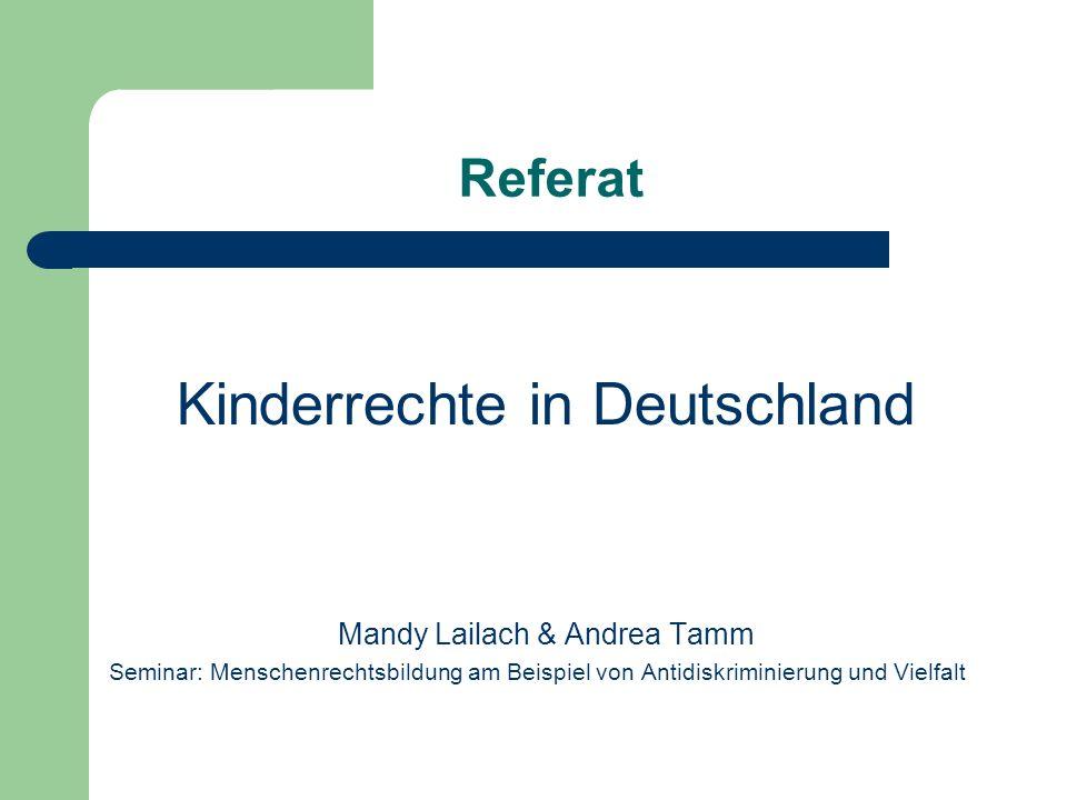 Kinderrechte in Deutschland
