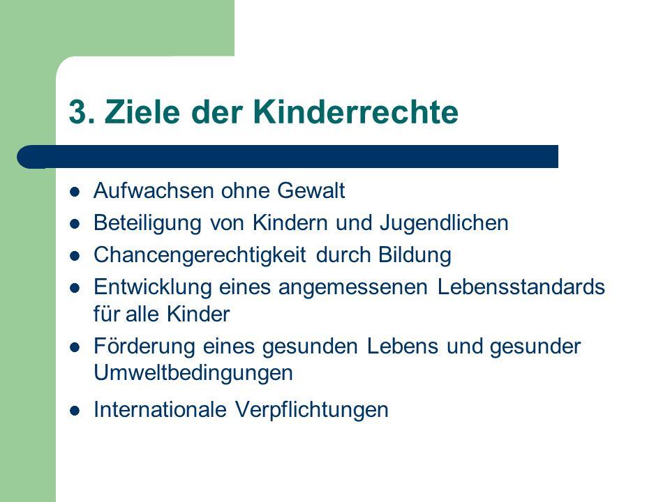 3. Ziele der Kinderrechte