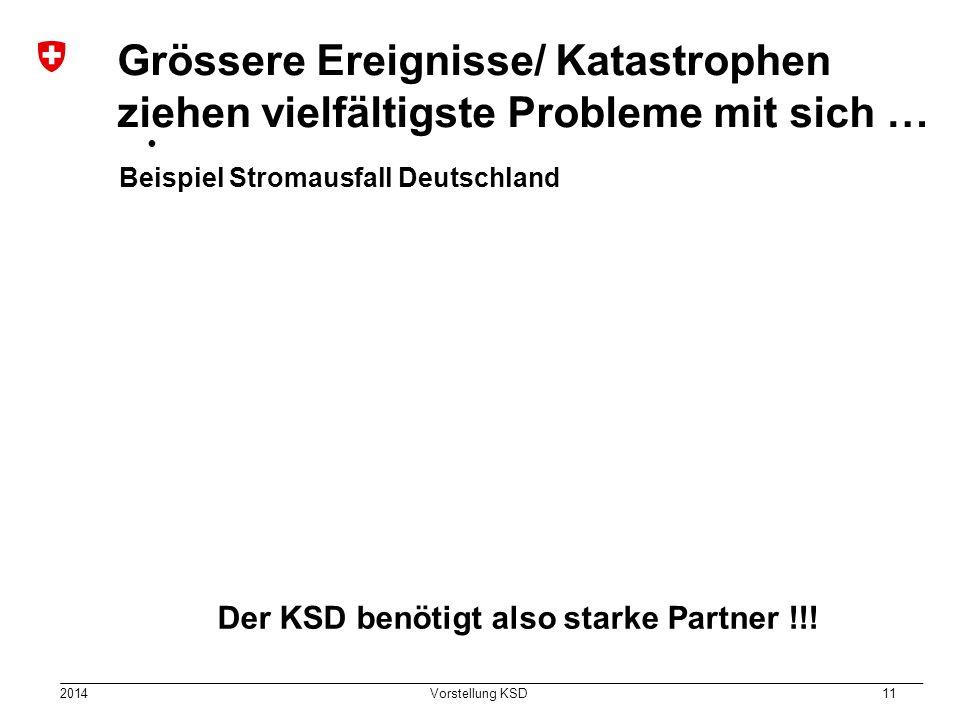 Der KSD benötigt also starke Partner !!!