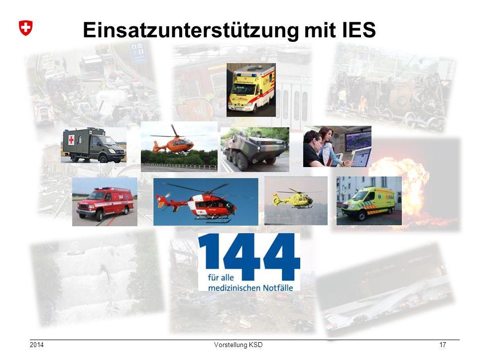 Einsatzunterstützung mit IES