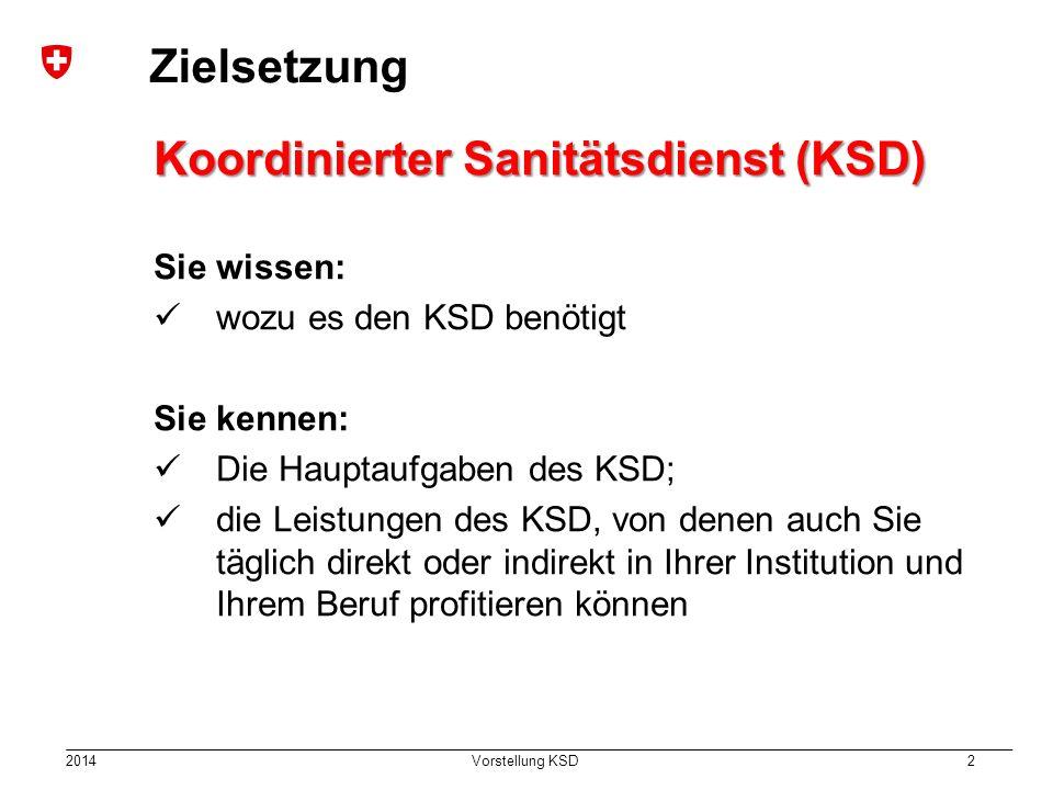 Koordinierter Sanitätsdienst (KSD)