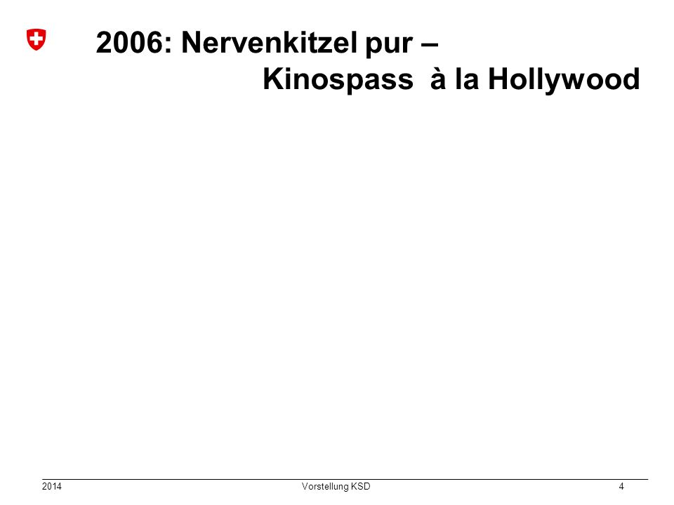 2006: Nervenkitzel pur – Kinospass à la Hollywood