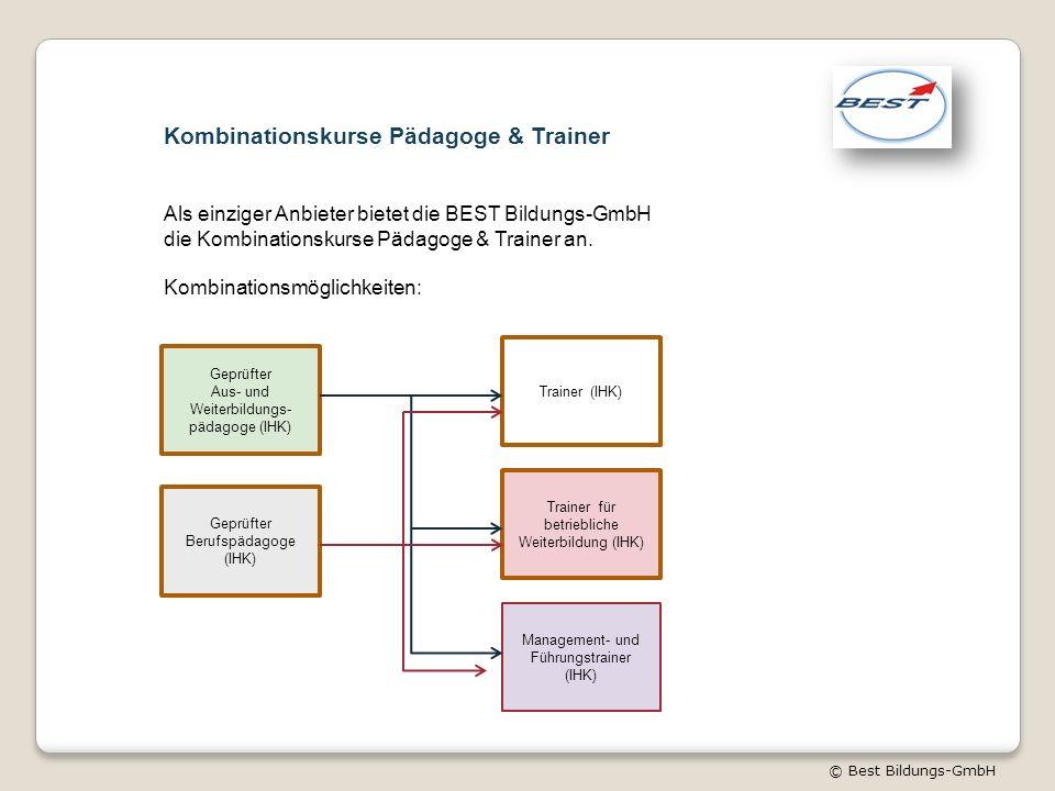 Kombinationskurse Pädagoge & Trainer