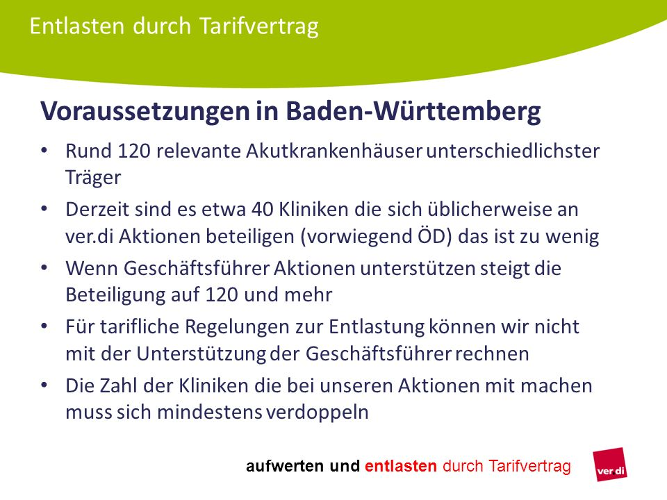 Voraussetzungen in Baden-Württemberg