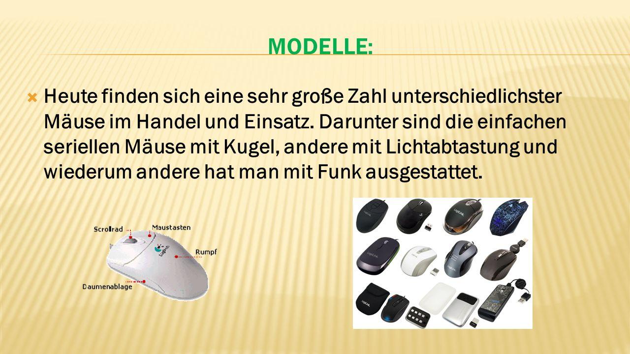 Modelle: