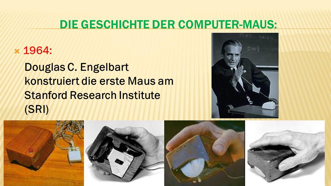 Die Geschichte der Computer-Maus:
