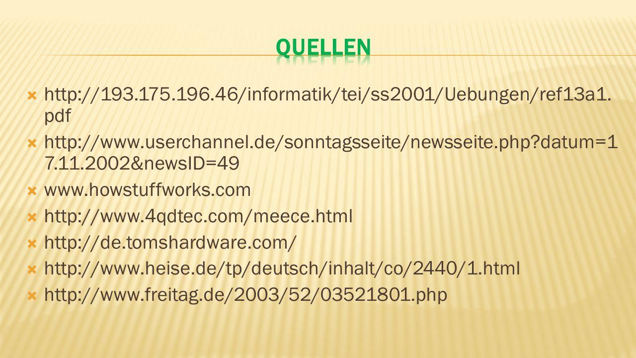 Quellen http://193.175.196.46/informatik/tei/ss2001/Uebungen/ref13a1.pdf.