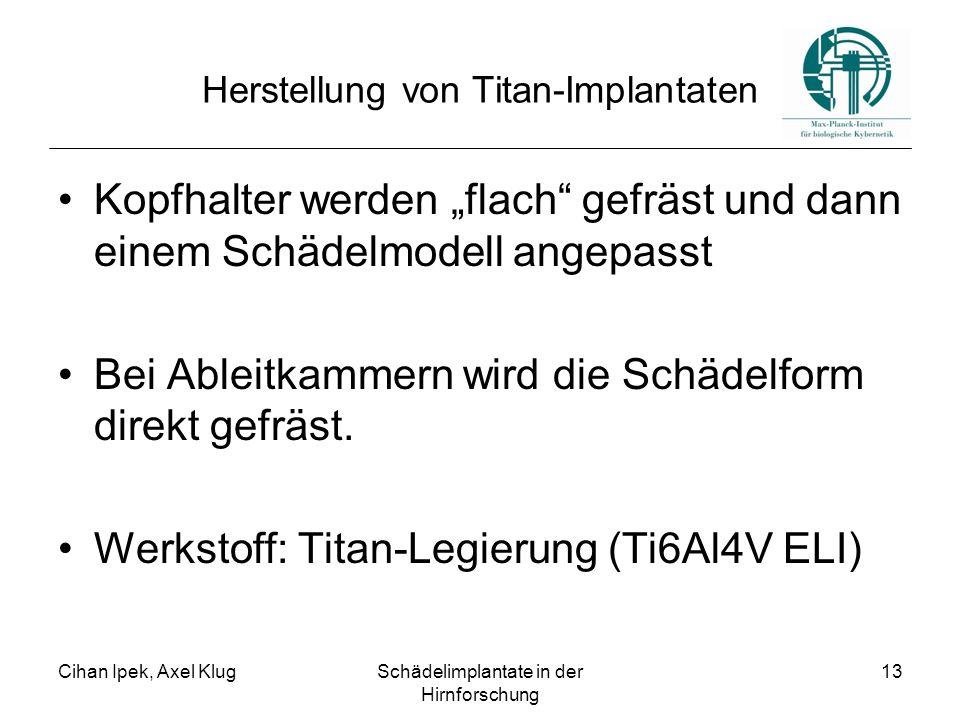 Herstellung von Titan-Implantaten