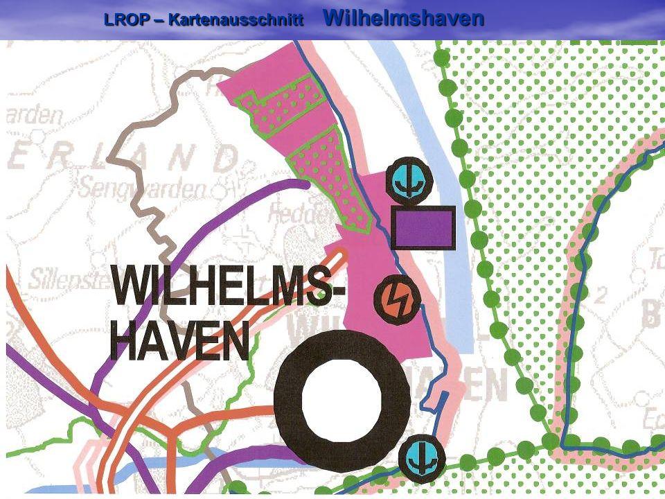 LROP – Kartenausschnitt Wilhelmshaven