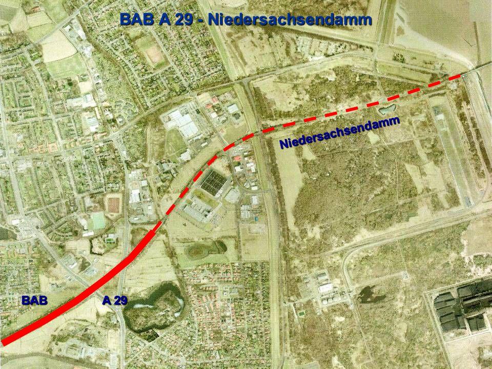BAB A 29 - Niedersachsendamm