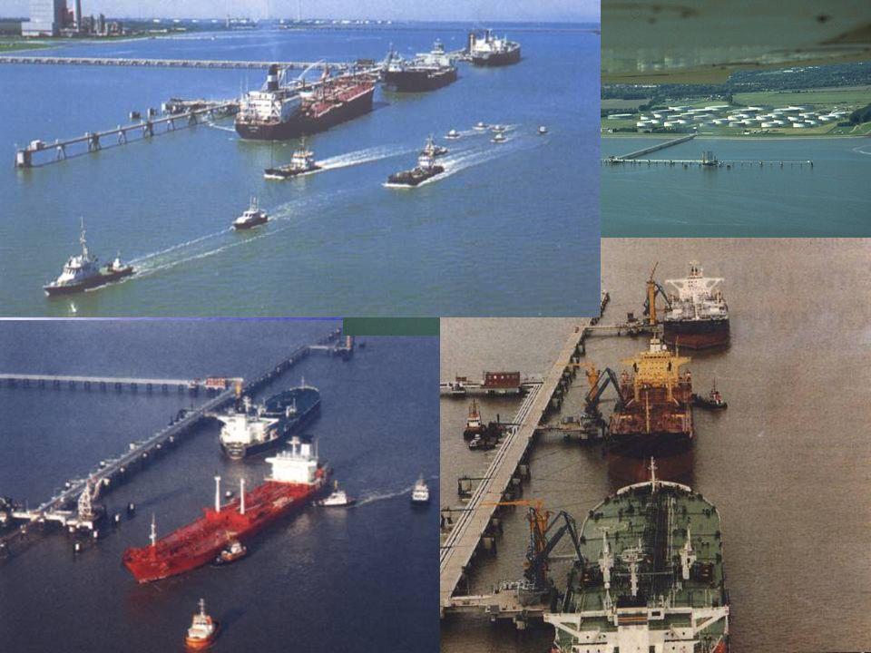 1957 kam es zum Bau des Ölhafens