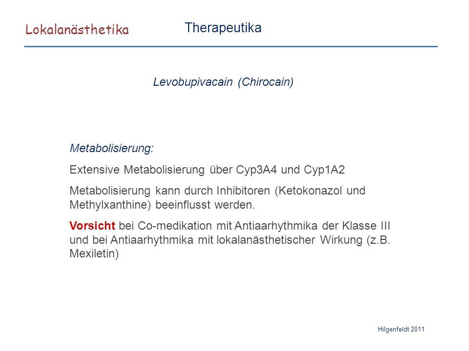 Levobupivacain (Chirocain)