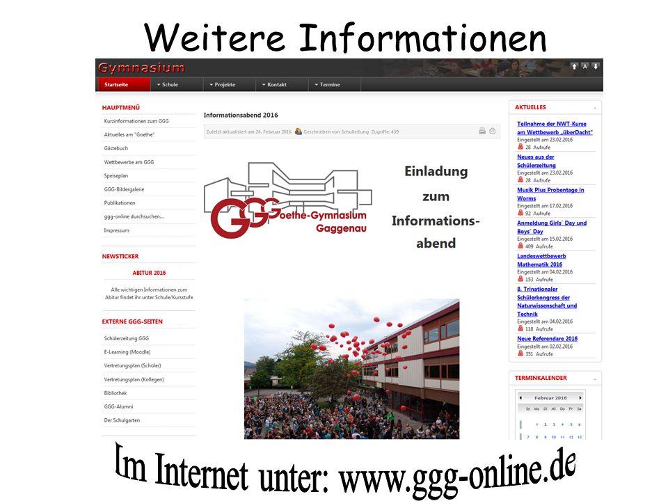Im Internet unter: www.ggg-online.de