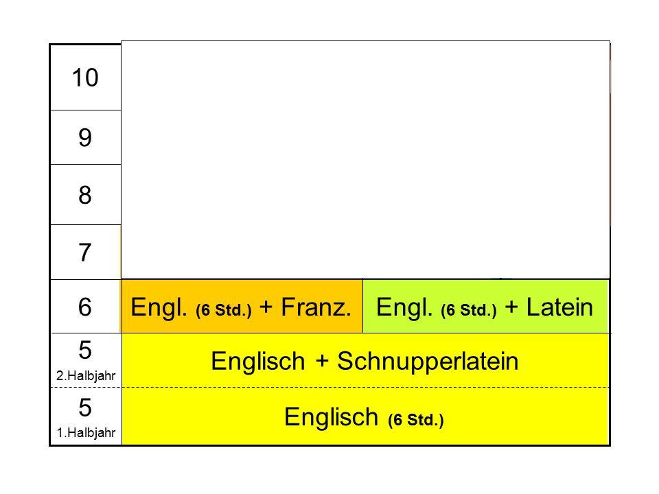 Spanisch (evtl. Franz.) oder NWT