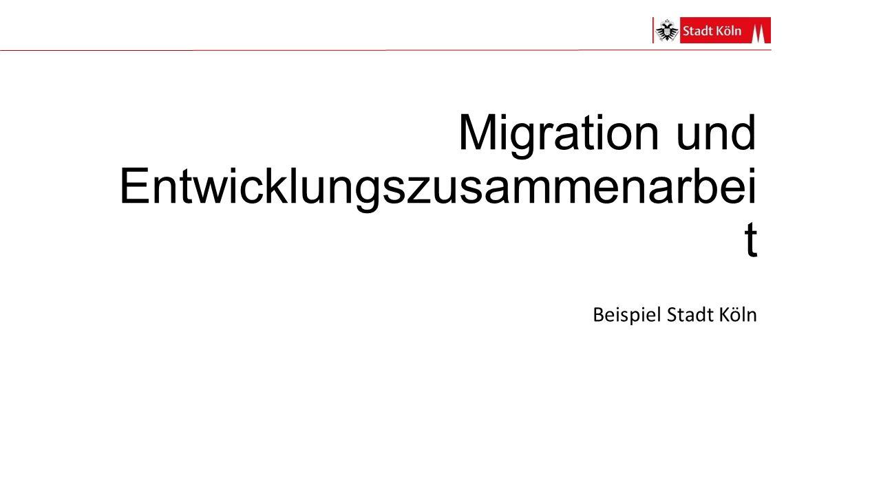 Migration und Entwicklungszusammenarbeit