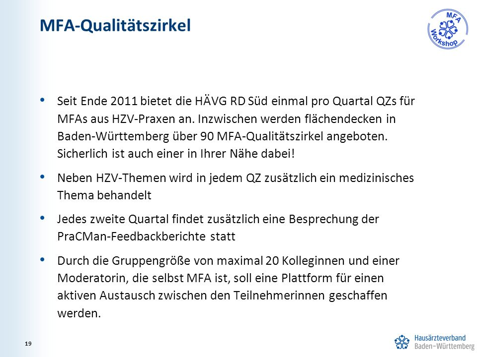 MFA-Qualitätszirkel