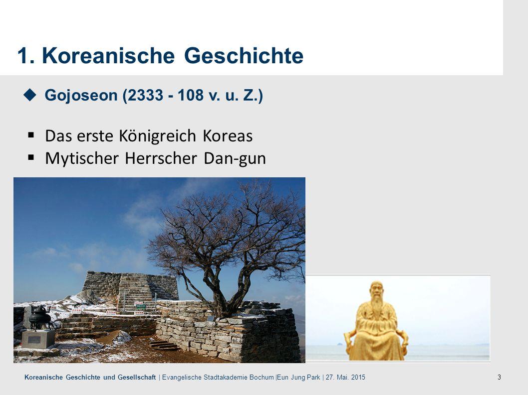 1. Koreanische Geschichte