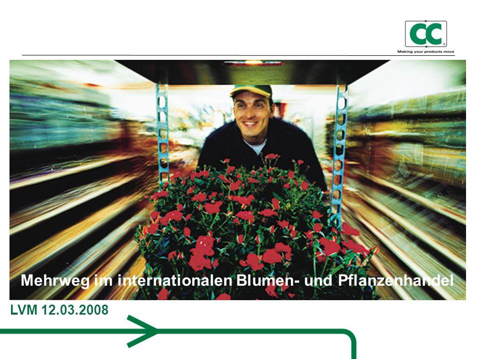 Mehrweg im internationalen Blumen- und Pflanzenhandel