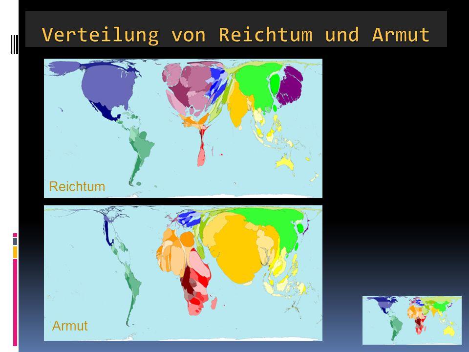 Verteilung von Reichtum und Armut