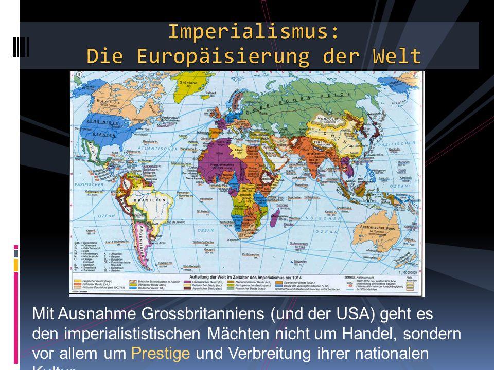 Die Europäisierung der Welt