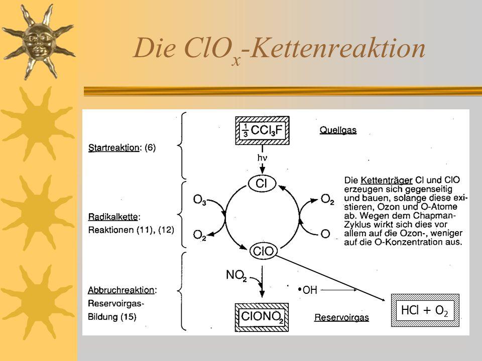 Die ClOx-Kettenreaktion