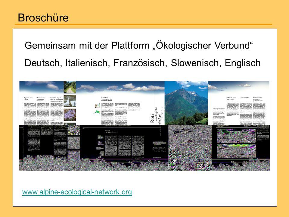 """Broschüre Gemeinsam mit der Plattform """"Ökologischer Verbund"""