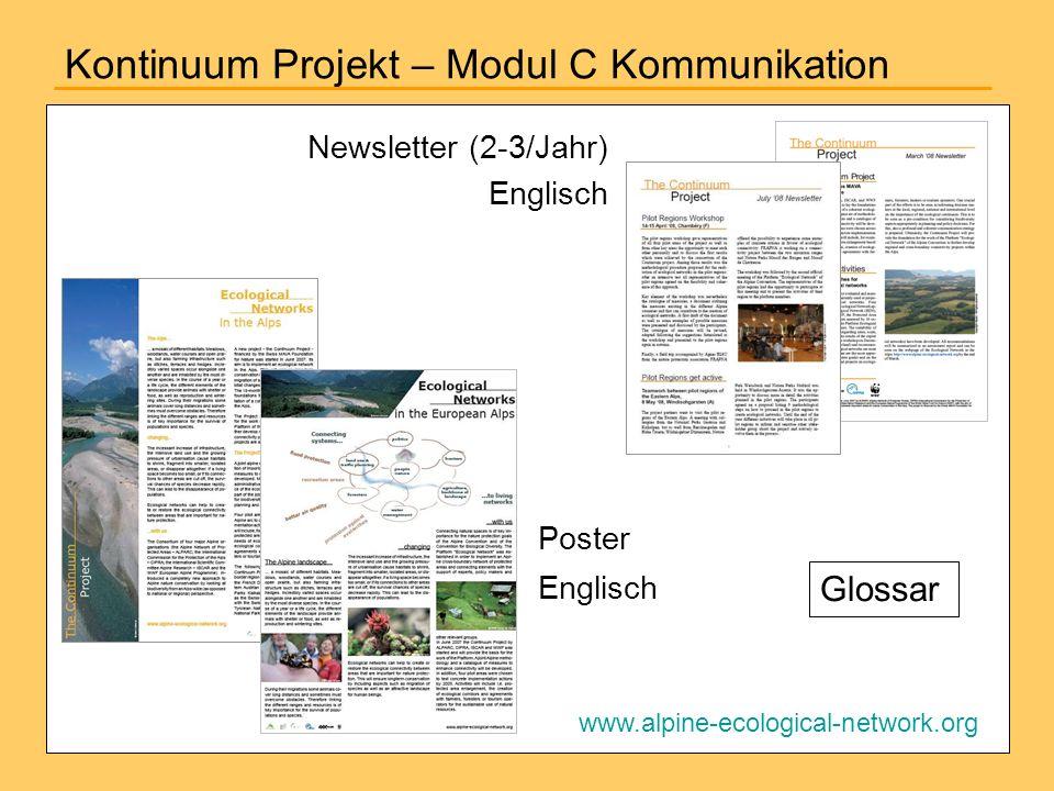 Kontinuum Projekt – Modul C Kommunikation
