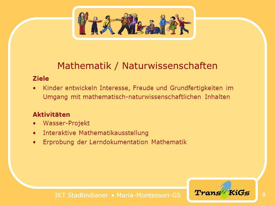 Mathematik / Naturwissenschaften