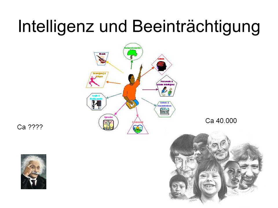 Intelligenz und Beeinträchtigung