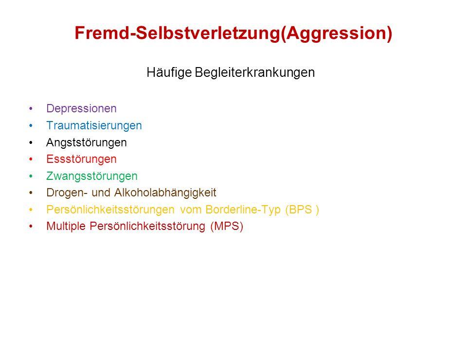Fremd-Selbstverletzung(Aggression)