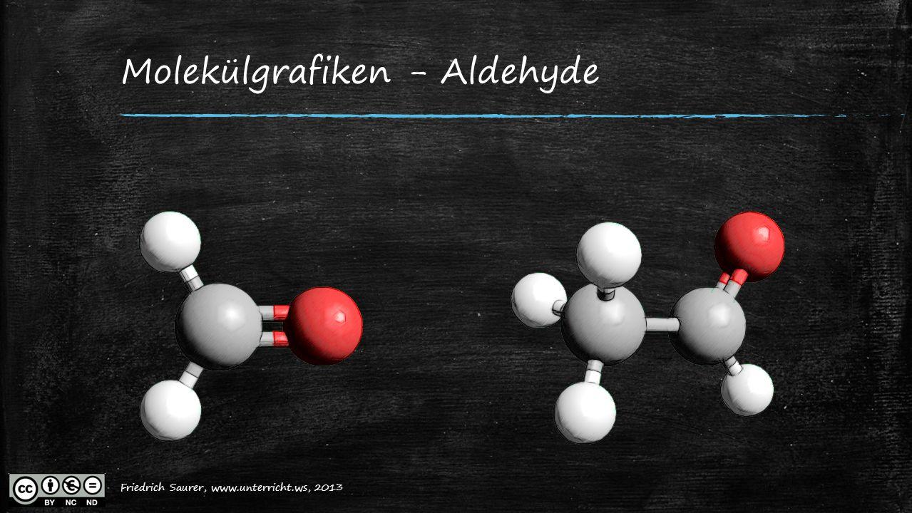 Molekülgrafiken - Aldehyde