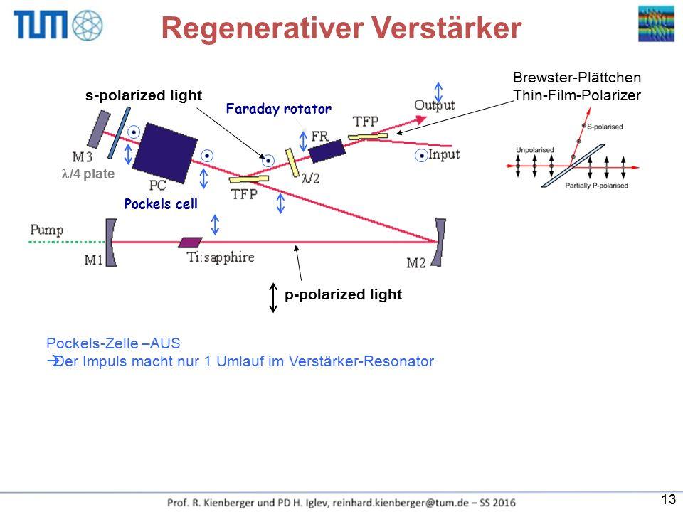 Regenerativer Verstärker