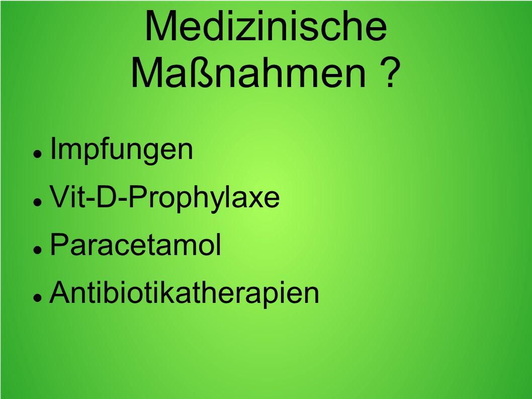 Medizinische Maßnahmen