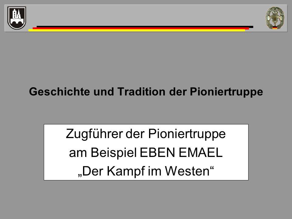 Geschichte und Tradition der Pioniertruppe
