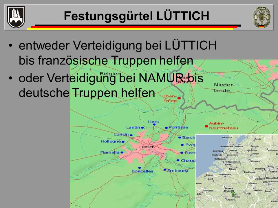 Festungsgürtel LÜTTICH