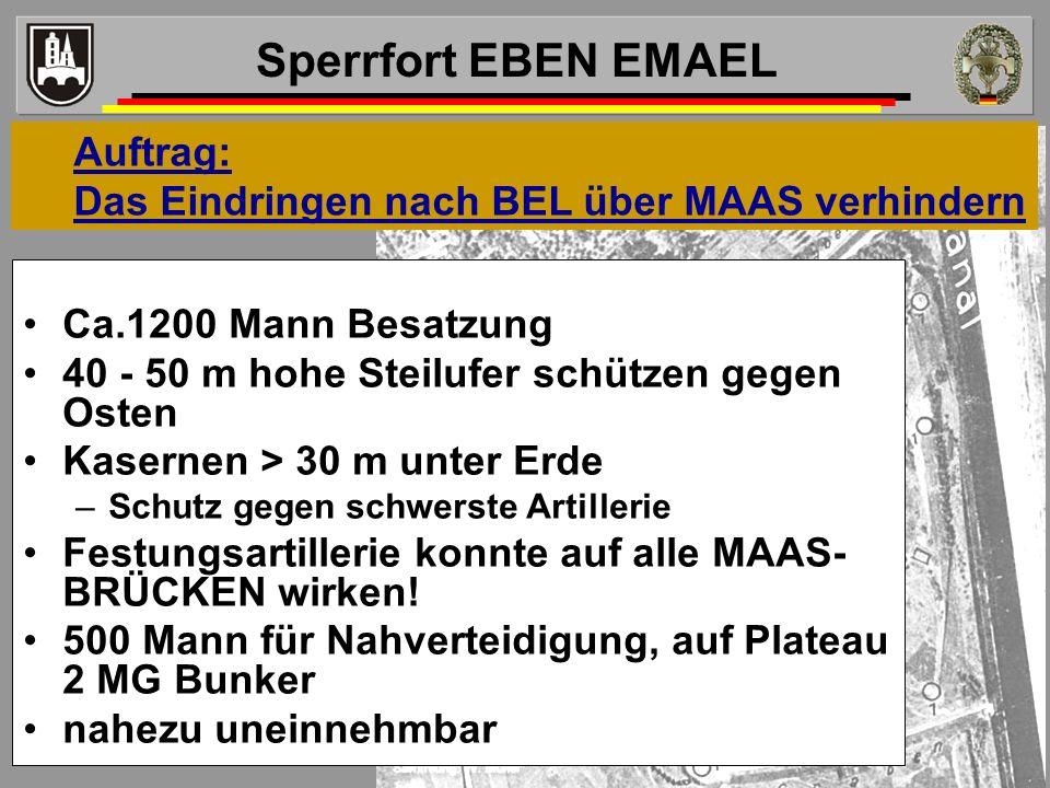 Sperrfort EBEN EMAEL Auftrag: