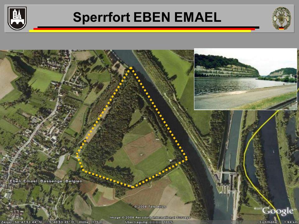Sperrfort EBEN EMAEL Taktische Bedeutung
