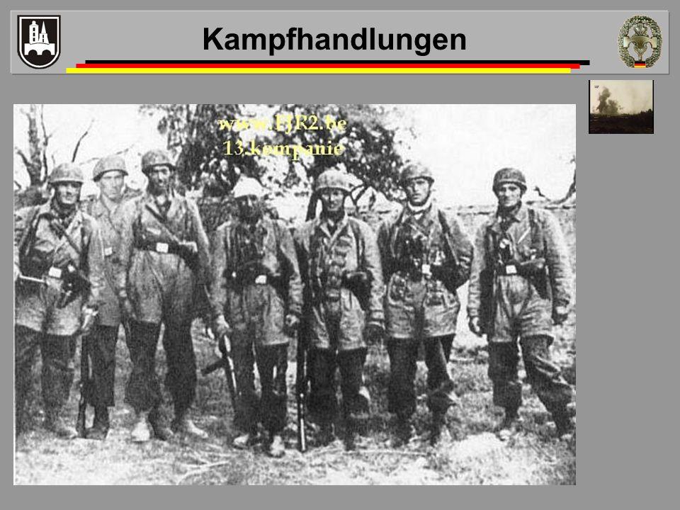 Kampfhandlungen Video 3:40 Fw Wenzel Trupp4 erklärt erste Minuten