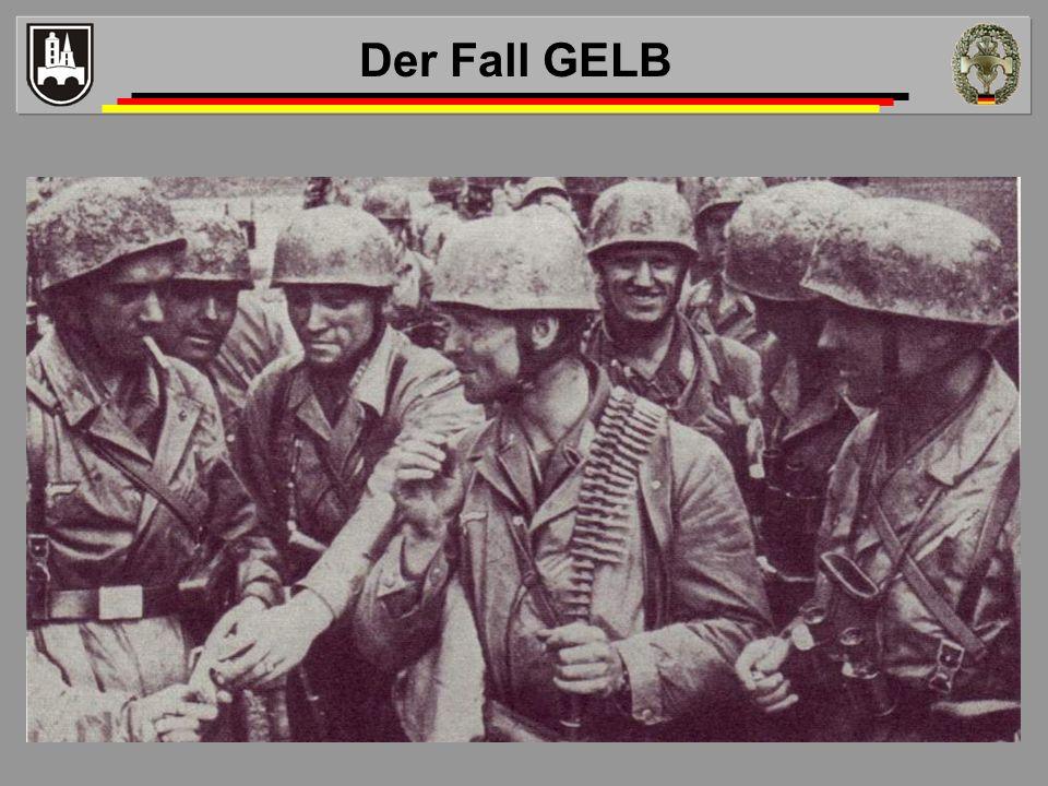 Der Fall GELB Westoffensive ( Fall Gelb )
