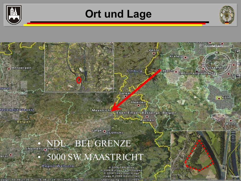 Ort und Lage NDL – BEL GRENZE 5000 SW MAASTRICHT