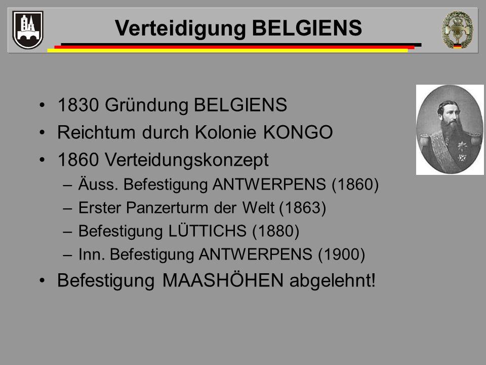 Verteidigung BELGIENS