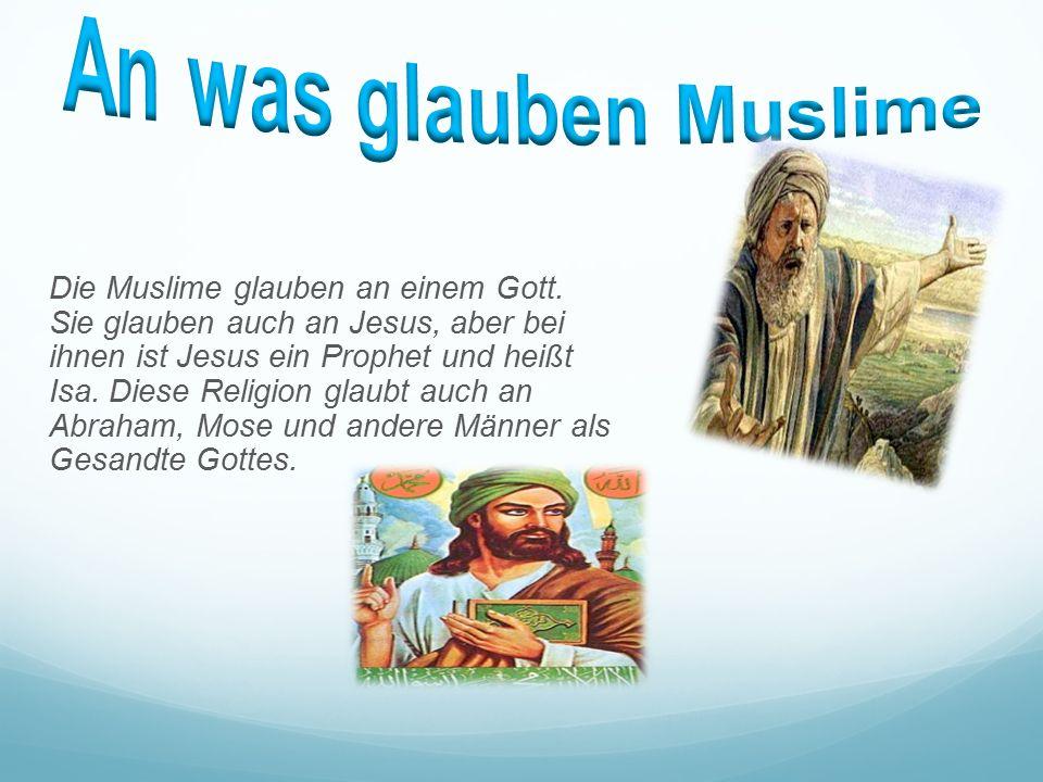 glauben der muslime