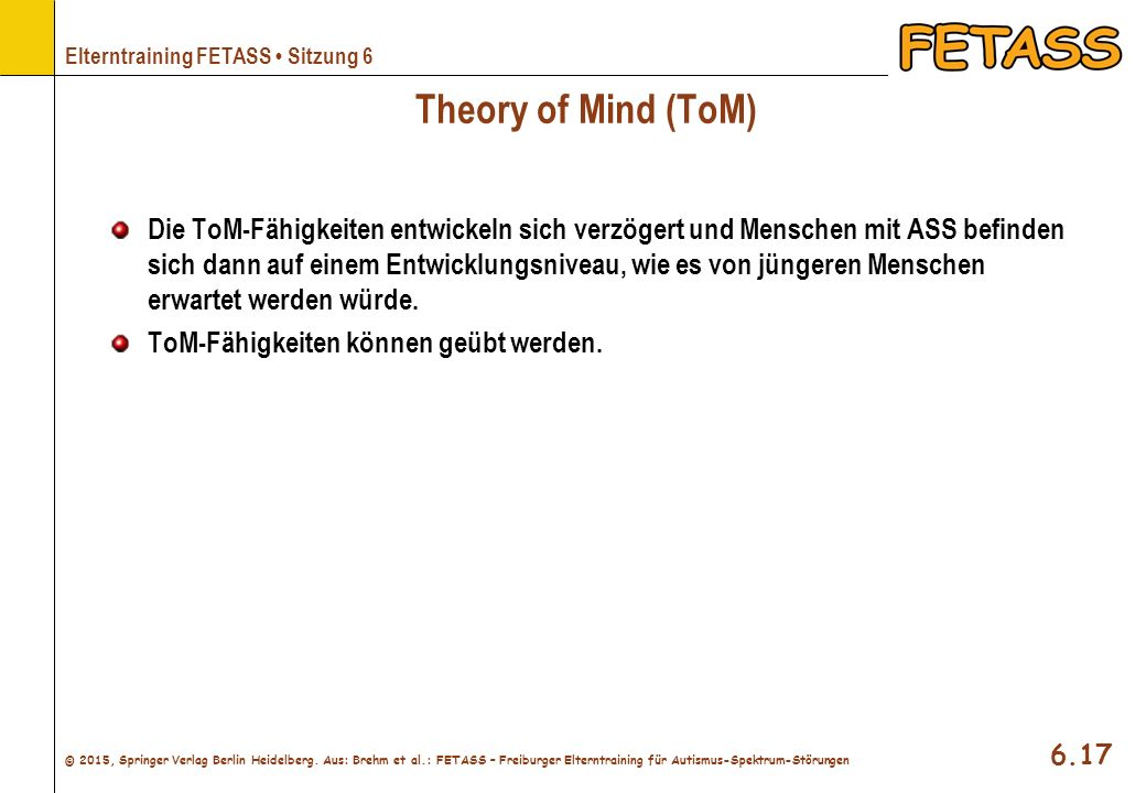 Theory of Mind (ToM)