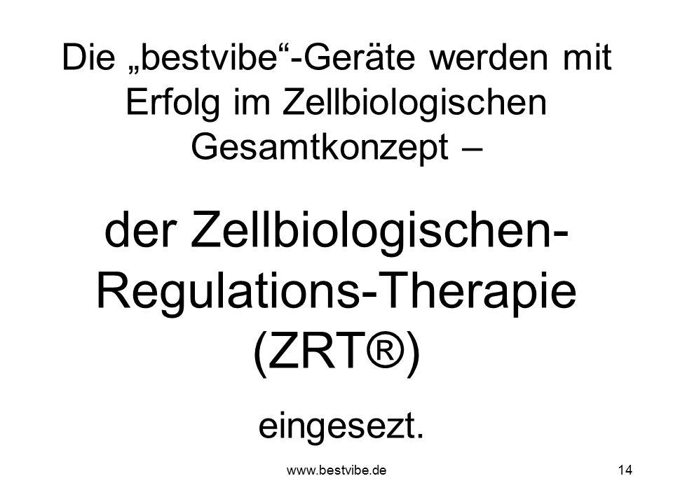 der Zellbiologischen-Regulations-Therapie (ZRT®)