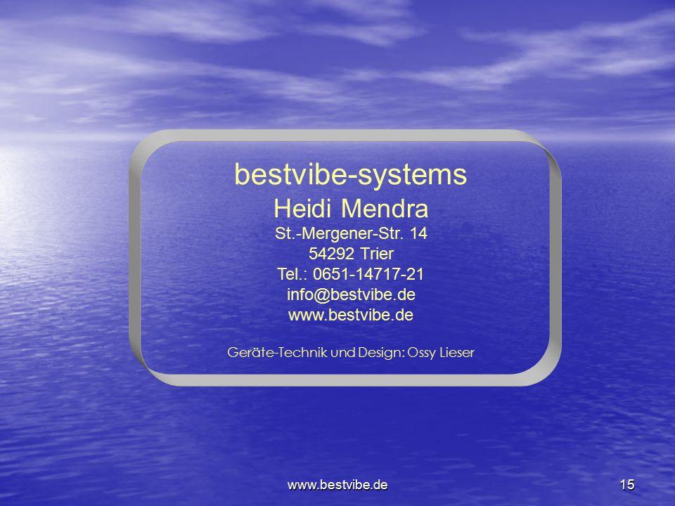 Geräte-Technik und Design: Ossy Lieser