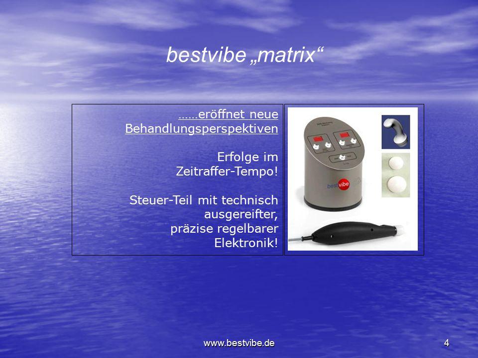 """bestvibe """"matrix ……eröffnet neue Behandlungsperspektiven Erfolge im"""
